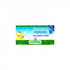 Specchialsol Fisiosol 20 (Fe-Cu-Co) 20 viales/ 2 ml
