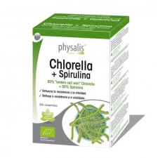 Chlorella + Spirulina 200 Comprimidos Physalis - Varios