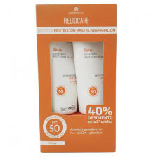 Pack Heliocare Spray 50+ 200 Ml X 2 Undidades