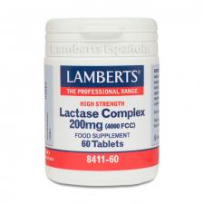 Lamberts Lactasa Complex 200 Mg 60 Tab