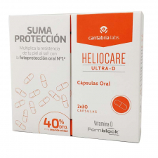 Heliocare Pack Ultra D 30Caps 2 Unidades