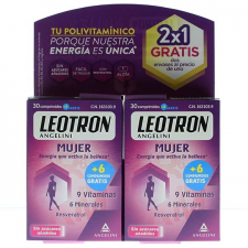 Leotron Pack Duplo Mujer 60 Comprimidos