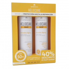 Heliocare Pack 360º Invisible Spray 2 x 200 Ml