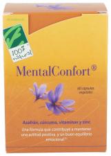 100% Natural Mentalconfort 60 Cápsulas - Farmacia Ribera
