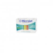Microlet Color  25 Lancetas - Bayer