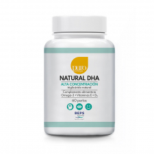 Puro Omega Beps Natural DHA Alta Concentración 60 Perlas