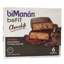 Bimanan beFIT Pro Barritas De Chocolate 6 Unidades