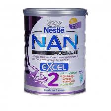 Nan 2 Excel Leche Hipoalergenica Lactantes Conti - Nestle