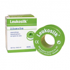 Esparadrapo Hipoalergico Leukosilk 5X2'5