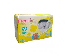 Freelife Cash 1 Pañal Bebé Recién Nacido 2-4Kg 28Unidades - Farmacia Ribera