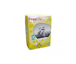 Bebe Cash Freelife Pañales Talla 2 56 Unid - Farmacia Ribera