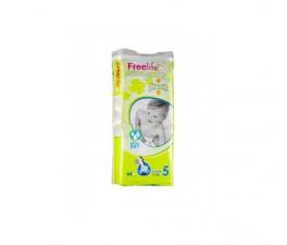 Bebe Cash Freelife Pañales Talla 5 44 Unid - Farmacia Ribera
