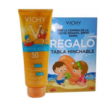 Capital Soleil Spf 50+ Leche Infantil 300 Ml (Regalo Tabla Hinchable)