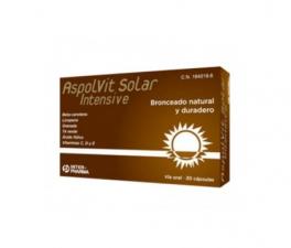 Aspolvit Solar Intensive 30 Cáp (Inter-Pharma) - Farmacia Ribera