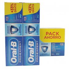 Pack Oral-B Duplo Pro Expert Prot. Profes. Pasta 2x100ml