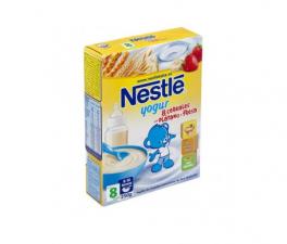 Nestle 8 Cereales Yogur Fresa Platano 250G - Farmacia Ribera