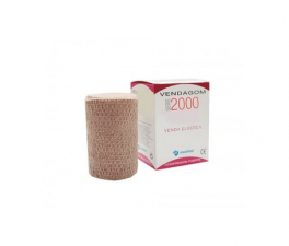 Venda Elastica Vendagom 2000 Comprimidosresión Fuerte, Color 10Mx10Cm - Farmacia Ribera