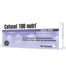 Cefasel 100 Nutri 50 Comprimidos - Laboratorio Cobas