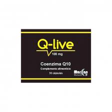 Coenzima Q10 Q-Live 30 Caps