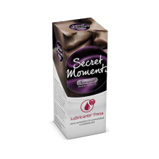 Secret Moments Gel Lubricante Fresa 50 Ml - Aquilea Uriach