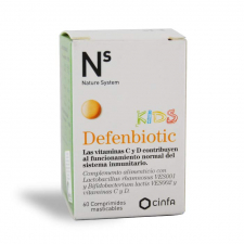 Ns Defenbiotic Kids Comp Masticables 60 Comprimi