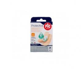 Pic Protective Con Bactericida Aposito Adhesivo Surtido 20 U - Farmacia Ribera