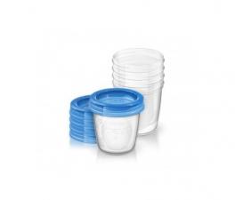 Philips Avent Recipientes Via Comida Bebe 5 Vaso - Farmacia Ribera