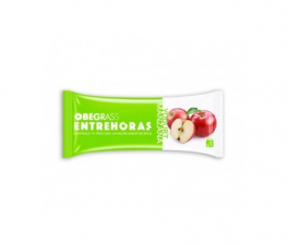 Obegrass Entrehoras Barrita Yogur Y Manzana 1U - Farmacia Ribera
