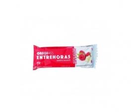 Obegrass Entrehoras Barrita Chocolate Blanco Y Frutos Rojos 1U - Farmacia Ribera