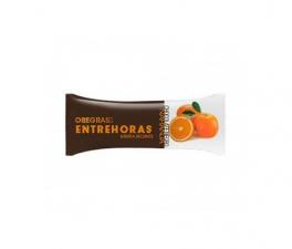 Obegrass Entrehoras Barrita Chocolate Negro Y Naranja 1U - Farmacia Ribera