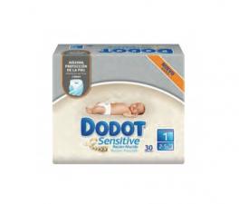 Dodot Sensitive Pañal Recién Nacido T1, 2-5Kg 30 Unidades - Farmacia Ribera