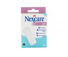 Nexcare Soft Apósitos 19X76Mm 20Unidades - Farmacia Ribera