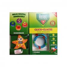 Relec Pulsera Click-Clack Estrella