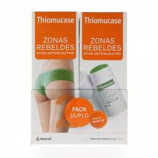 Pack Duplo Thiomucase Stick Zonas Rebeldes 150Ml - Thiomucase