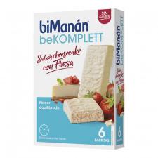Bimanan Barrita Cheesecake Fresa Caja 6Und - Farmacia Ribera