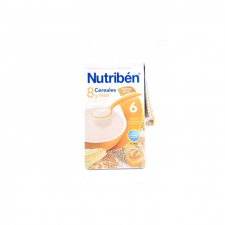 Nutriben 8 Cereales Y Miel Galletas Maria 600 G - Alter Fcia