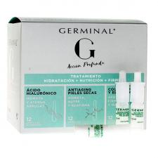 Germinal Acción Profunda Tratamiento Hidratación 36 Ampollas