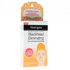 Neutrogena Blackhead Eliminating Tiras Exfoliantes 6 Unidades