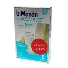 Bimanán beKOMPLETT Sabor Yogur 8 Barritas