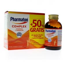 Pharmaton Complex 60 Cápsulas + 50% Gratis