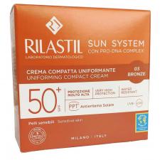 Rilastil Sun System 50+ Crema Compacta 10 G Color 03 Bronze