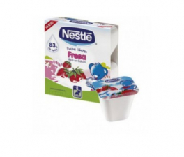 Nestle Postre Lacteo Fresa 100G 4 Unidades - Farmacia Ribera