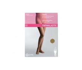 Famalastic Panty-Media Hasta La Cintura (E-T)Normal Talla Grande Camel - Farmacia Ribera