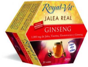 Jalea Real Royal Vit Ginseng 1000Mg Taurina 20Amp