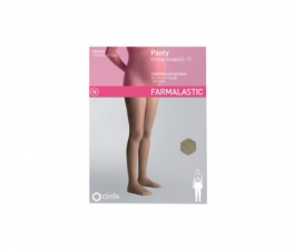 Farmalastic Panty Embarazada (E-T) Compresión Normal Talla Grande Beige - Farmacia Ribera