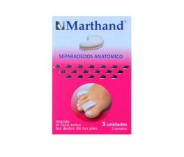 Marthand Separador Dedos Espuma 2 Tamaños 3U - Farmacia Ribera