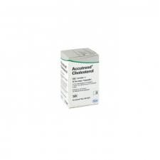 Tiras Reactivas Colesterol Accutrend 25 U - Varios
