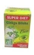 Ginkgo Biloba Bio 80 Comp. - Super Diet