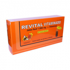Revital Jalea Real Vitaminado Amp Bebibles 20 Vi - Pharma OTC