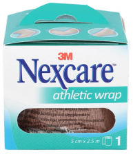 3M Nexcare Athletic Wrap Ref N1650T 5 Cm X 2.5 C